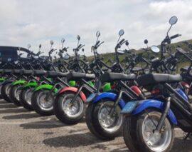 E-chopper (E-scooter) tour